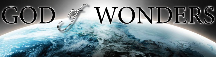 God of Wonders Sermon Series
