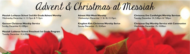 Advent & Christmas at Messiah