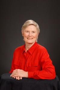 Church Secretary Mary Caldwell